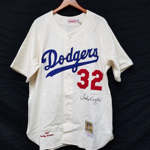 Photo of Kershaw's Challenge: Sandy Koufax Autographed Dodger Jersey