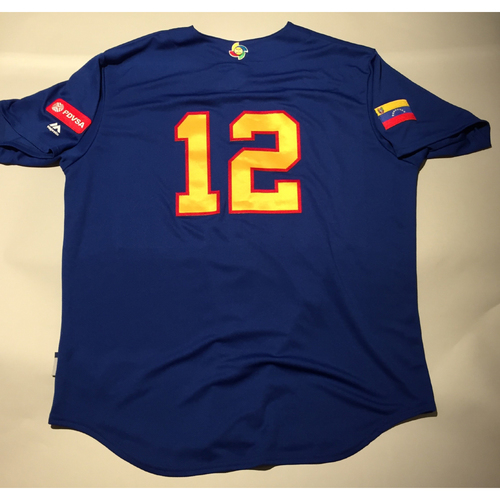 Photo of 2017 WBC: Venezuela Batting Practice Jersey, #12
