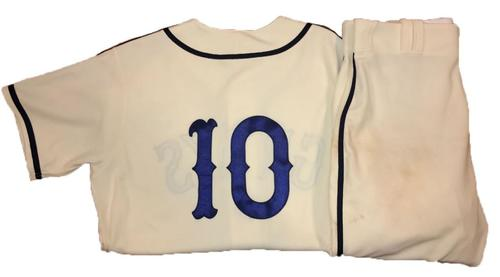 Photo of Jordy Mercer Game-Used Homestead Greys Jersey and Pants