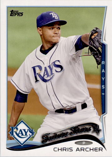 Photo of 2014 Topps #383 Chris Archer