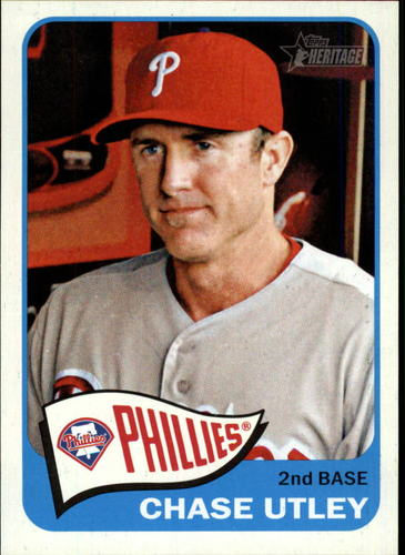 Photo of 2014 Topps Heritage #119 Chase Utley