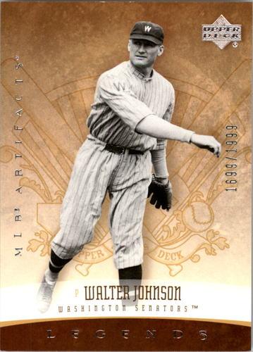 Photo of 2005 Artifacts #195 Walter Johnson LGD