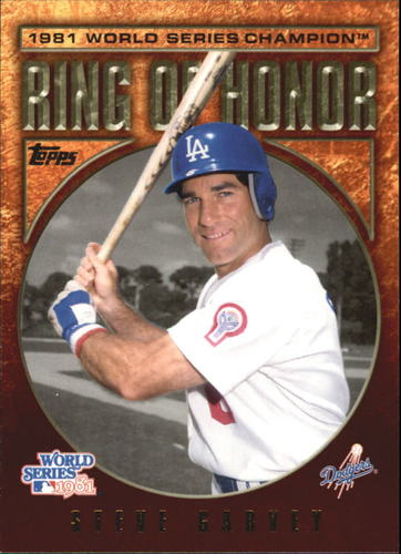 Photo of 2009 Topps Ring Of Honor #RH95 Steve Garvey