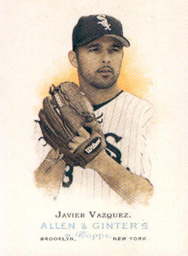 Photo of 2006 Topps Allen and Ginter #28 Javier Vazquez