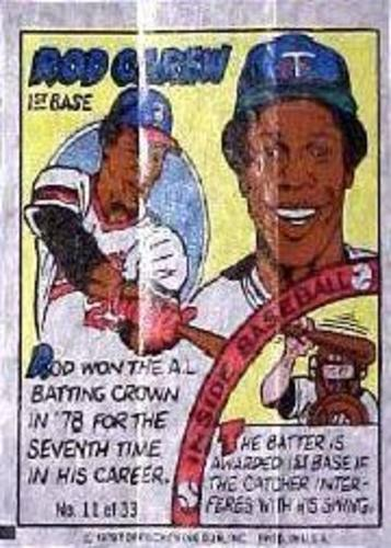 Photo of 1979 Topps Comics #11 Rod Carew