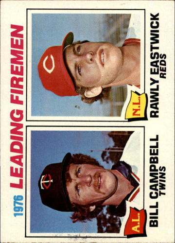 Photo of 1977 Topps #8 Leading Firemen/Bill Campbell/Rawly Eastwick
