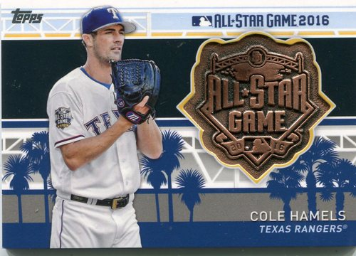 Photo of 2017 Topps All Star Team Medallions Cole Hamels