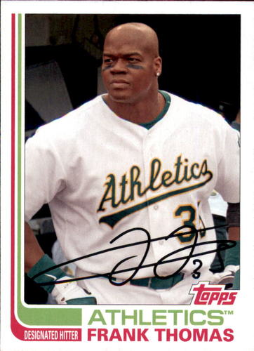 Photo of 2017 Topps Archives #153 Frank Thomas