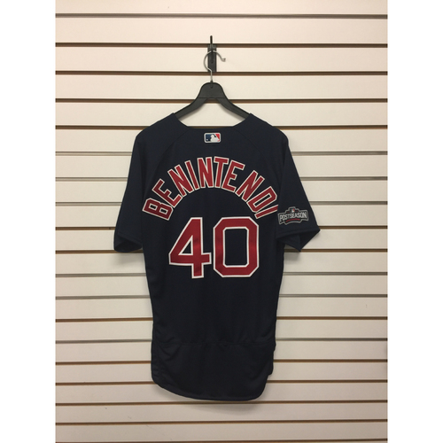 Photo of Andrew Benintendi Team-Issued Road Alternate Jersey