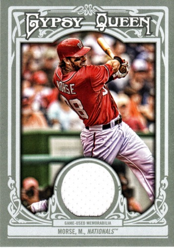 Photo of 2013 Topps Gypsy Queen Relics #MMR Mike Morse