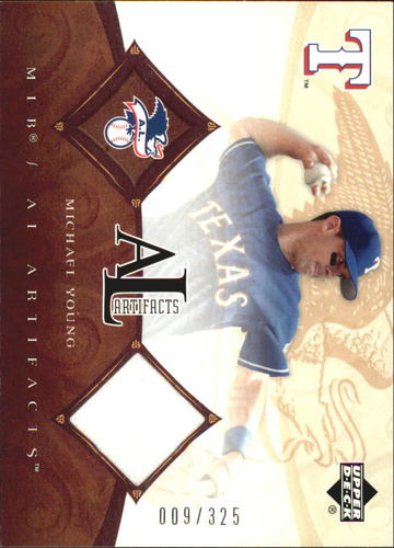 Photo of 2005 Artifacts AL/NL Artifacts #MY Michael Young Jsy/325
