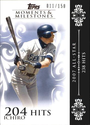 Photo of 2008 Topps Moments and Milestones #63-204 Ichiro Suzuki