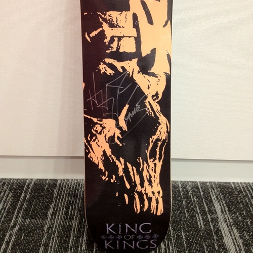 Triple H SIGNED Skateboard Deck
