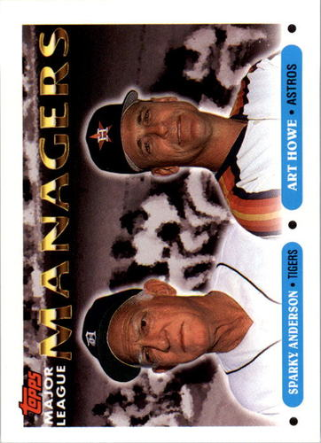 Photo of 1993 Topps #506 Sparky Anderson MG/Art Howe MG