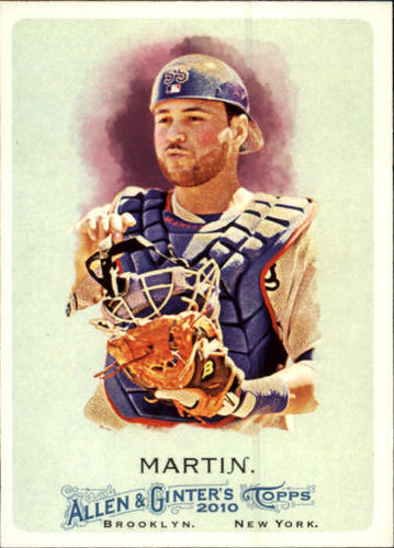 Photo of 2010 Topps Allen and Ginter #204 Russell Martin