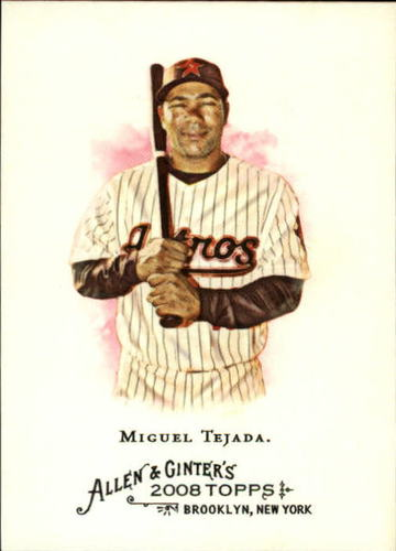 Photo of 2008 Topps Allen and Ginter #21 Miguel Tejada