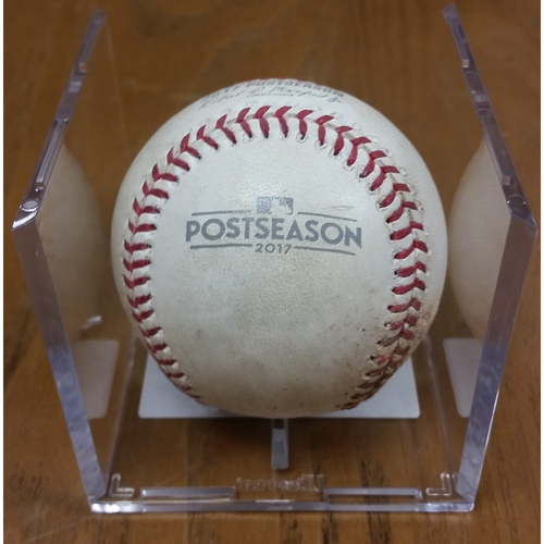 Photo of NLDS Game 5 Game-Used Baseball: Jon Jay Single