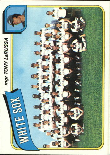 Photo of 1980 Topps #112 Chicago White Sox CL/Tony LaRussa MG