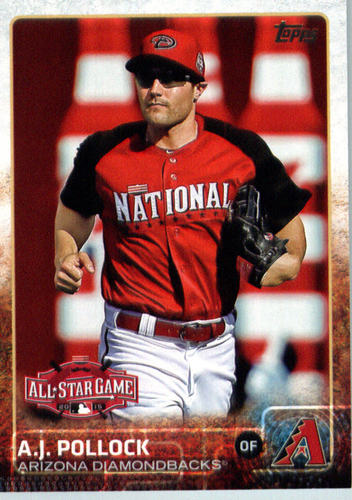 Photo of 2015 Topps Update #US186 A.J. Pollock