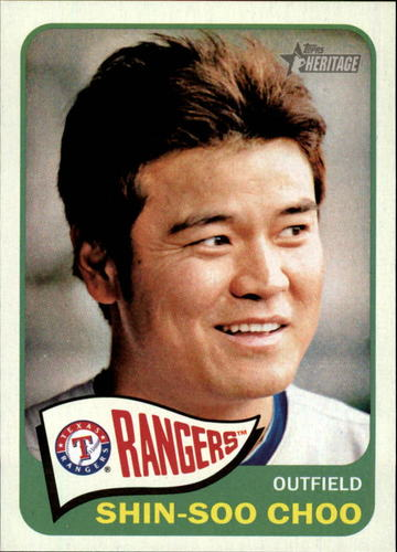 Photo of 2014 Topps Heritage #120 Shin-Soo Choo