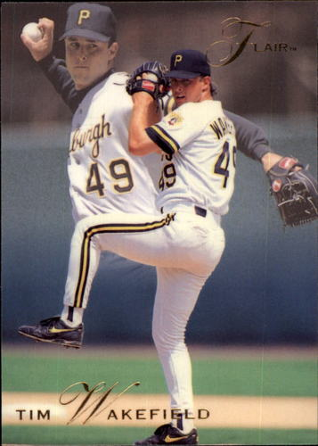 Photo of 1993 Flair #118 Tim Wakefield