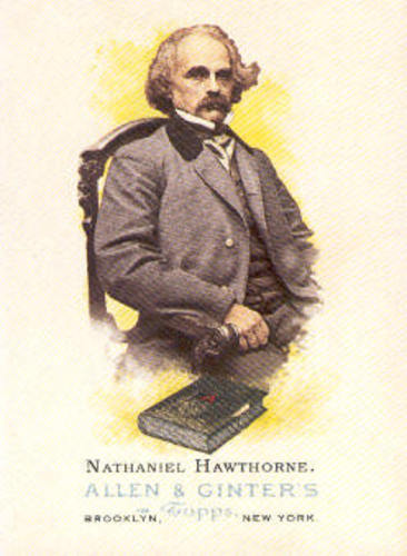 Photo of 2006 Topps Allen and Ginter #340 Nathaniel Hawthorne