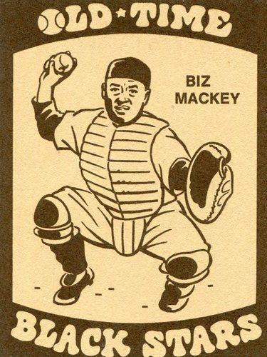 Photo of 1974 Laughlin Old Time Black Stars #27 Biz Mackey