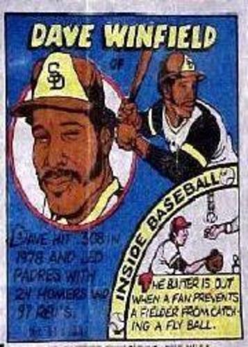 Photo of 1979 Topps Comics #31 Dave Winfield