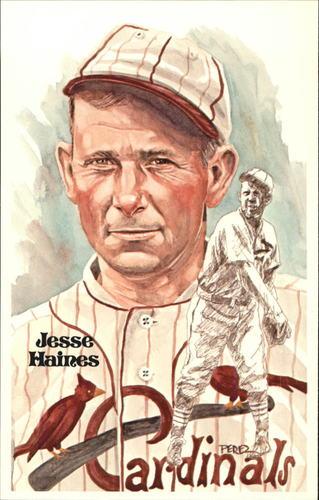 Photo of 1980-02 Perez-Steele Hall of Fame Postcards #118 Jesse Haines -- Set #08689