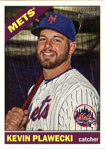 Photo of 2015 Topps Heritage #592 Kevin Plawecki RC