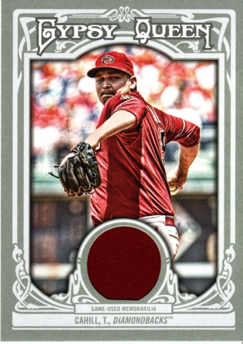 Photo of 2013 Topps Gypsy Queen Relics #TC Trevor Cahill