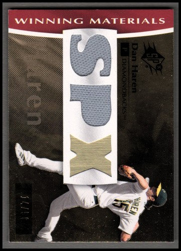 Photo of 2008 SPx Winning Materials Dual SPx #DH Dan Haren