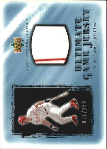 Photo of 2001 Ultimate Collection Game Jersey #USR Scott Rolen
