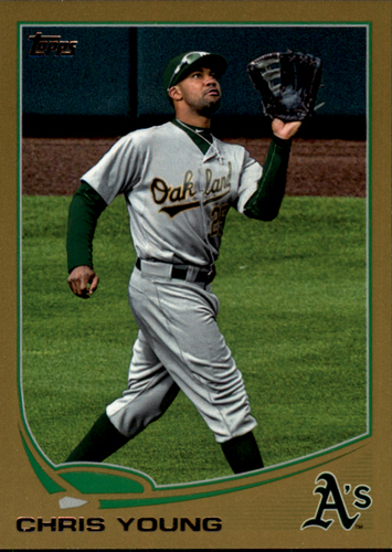 Photo of 2013 Topps Gold #368 Chris Young