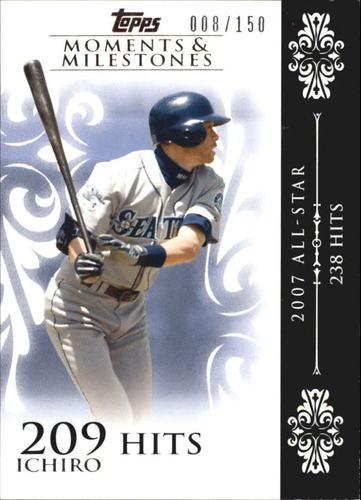 Photo of 2008 Topps Moments and Milestones #63-209 Ichiro Suzuki