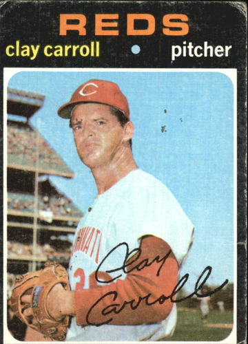 Photo of 1971 Topps #394 Clay Carroll