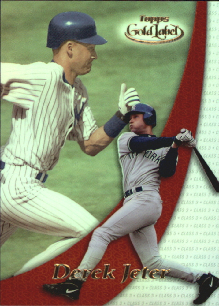 2000 Topps Gold Label Pre-Production #PP3 Derek Jeter