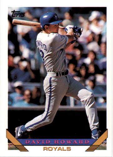 Photo of 1993 Topps #519 David Howard