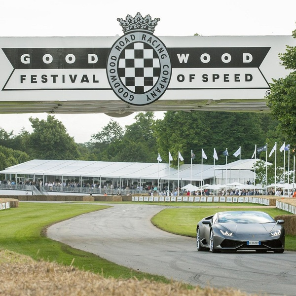 Click to view Lamborghini Hill Climb Experience at the Goodwood Festival of Speed.