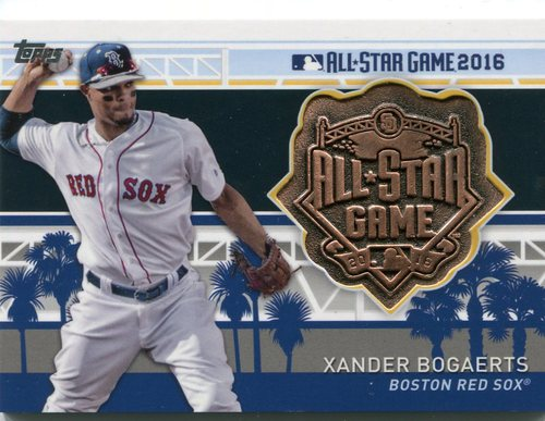Photo of 2017 Topps All Star Team Medallions  Xander Bogaerts