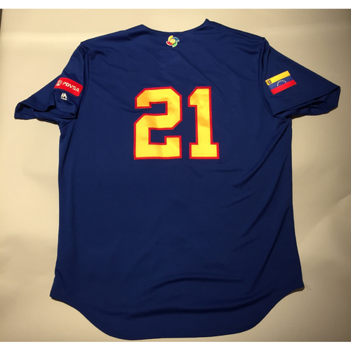 Photo of 2017 WBC: Venezuela Batting Practice Jersey, #21