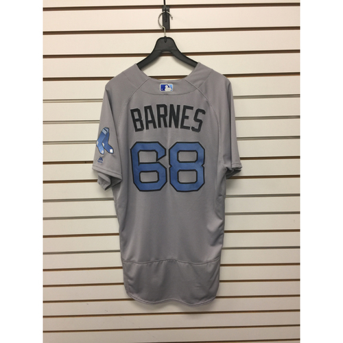 Photo of Matt Barnes Game-Used June 18, 2017 Father's Day Road Jersey