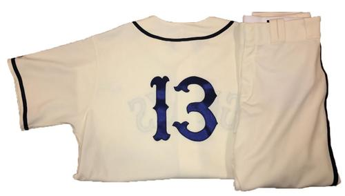 Photo of Clint Hurdle Game-Used Homestead Greys Jersey and Pants