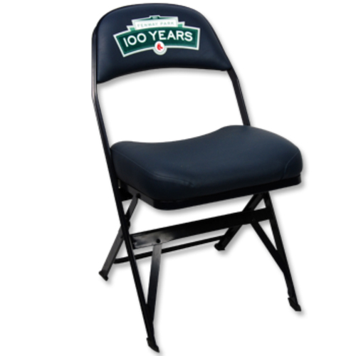 Photo of Fenway Park 100 Game-Used Visitor's Locker Room Clubhouse Chair