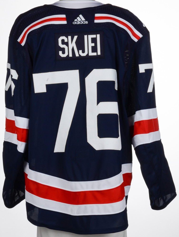 Brady Skjei New York Rangers Game-Worn 2018 NHL Winter Classic Jersey