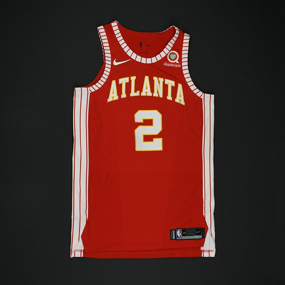 Tyler Dorsey - Atlanta Hawks - Game-Worn Classic Edition 1970-72 Road Style Jersey - 2017-18 Season
