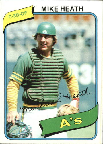 Photo of 1980 Topps #687 Mike Heath DP