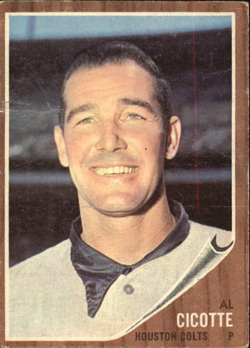 Photo of 1962 Topps #126 Al Cicotte