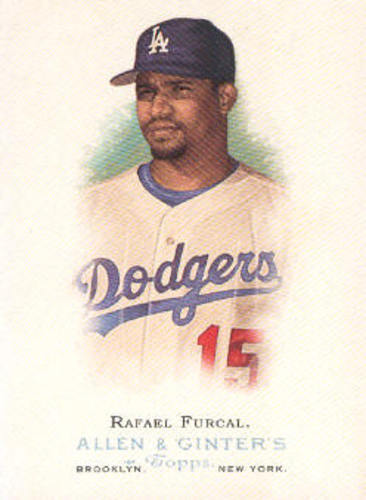 Photo of 2006 Topps Allen and Ginter #248 Rafael Furcal