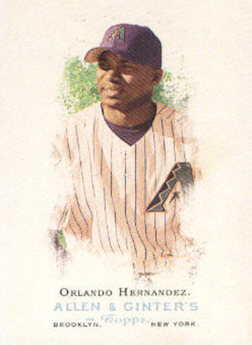 Photo of 2006 Topps Allen and Ginter #108 Orlando Hernandez